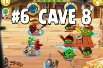 Angry Birds Epic Strange Site Level 6 Walkthrough | Chronicle Cave 8