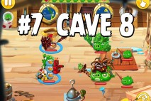 Angry Birds Epic Strange Site Level 7 Walkthrough | Chronicle Cave 8