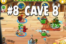 Angry Birds Epic Strange Site Level 8 Walkthrough | Chronicle Cave 8