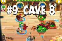 Angry Birds Epic Strange Site Level 9 Walkthrough | Chronicle Cave 8