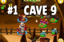 Angry Birds Epic Pig Lair Level 1 Walkthrough | Chronicle Cave 9