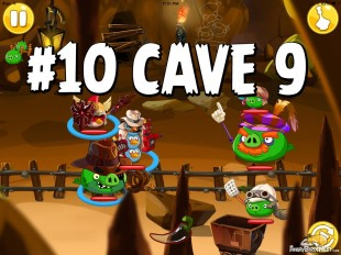 Angry Birds Epic Pig Lair Level 10 Walkthrough | Chronicle Cave 9
