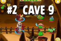 Angry Birds Epic Pig Lair Level 2 Walkthrough | Chronicle Cave 9