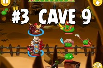 Angry Birds Epic Pig Lair Level 3 Walkthrough | Chronicle Cave 9