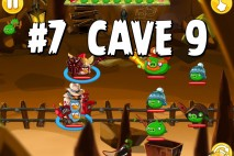 Angry Birds Epic Pig Lair Level 7 Walkthrough | Chronicle Cave 9