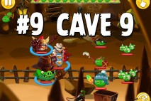 Angry Birds Epic Pig Lair Level 9 Walkthrough | Chronicle Cave 9
