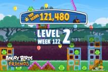 Angry Birds Friends Bouncy Tournament Level 2 Week 122 Walkthroughs | September 15th 2014