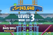 Angry Birds Friends Bouncy Tournament Level 3 Week 122 Walkthroughs | September 15th 2014