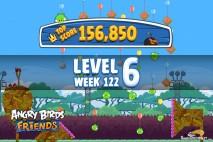 Angry Birds Friends Bouncy Tournament Level 6 Week 122 Walkthroughs | September 15th 2014