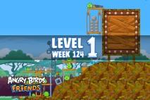 Angry Birds Friends Sneak Peek Tournament Level 1 Week 124 Walkthroughs   September 29th 2014