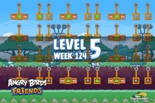 Angry Birds Friends Sneak Peek Tournament Level 5 Week 124 Walkthroughs | September 29th 2014