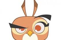 Angry Birds Stella Character Dahlia