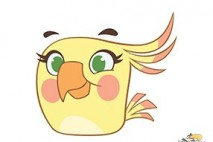 Angry Birds Stella Character Poppy
