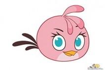 Angry Birds Stella Character Stella
