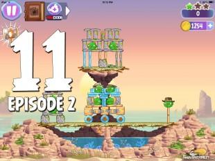 Angry Birds Stella Level 11 Episode 2 Walkthrough