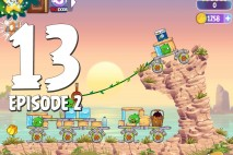 Angry Birds Stella Level 13 Episode 2 Walkthrough