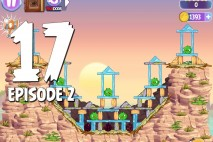 Angry Birds Stella Level 17 Episode 2 Walkthrough