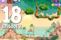 Angry Birds Stella Level 18 Episode 2 Walkthrough