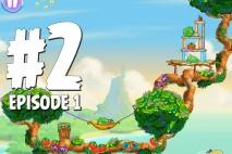 Angry Birds Stella Level 2 Episode 1 Walkthrough