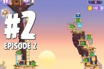 Angry Birds Stella Level 2 Episode 2 Walkthrough