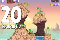 Angry Birds Stella Level 20 Episode 2 Walkthrough
