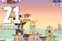 Angry Birds Stella Level 21 Episode 2 Walkthrough