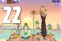 Angry Birds Stella Level 22 Episode 2 Walkthrough