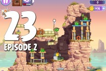 Angry Birds Stella Level 23 Episode 2 Walkthrough