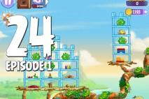 Angry Birds Stella Level 24 Episode 1 Walkthrough
