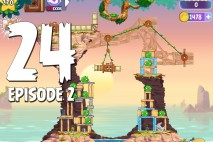 Angry Birds Stella Level 24 Episode 2 Walkthrough