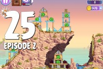 Angry Birds Stella Level 25 Episode 2 Walkthrough