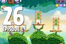 Angry Birds Stella Level 26 Episode 1 Walkthrough