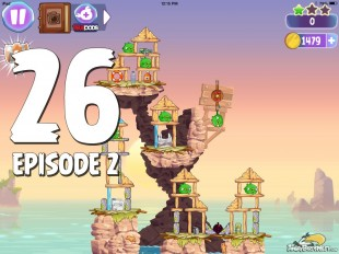Angry Birds Stella Level 26 Episode 2 Walkthrough
