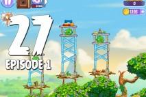 Angry Birds Stella Level 27 Episode 1 Walkthrough