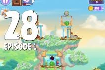 Angry Birds Stella Level 28 Episode 1 Walkthrough
