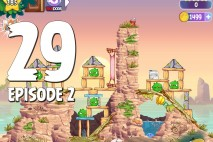 Angry Birds Stella Level 29 Episode 2 Walkthrough
