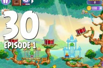 Angry Birds Stella Level 30 Episode 1 Walkthrough