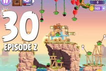 Angry Birds Stella Level 30 Episode 2 Walkthrough