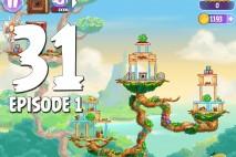 Angry Birds Stella Level 31 Episode 1 Walkthrough