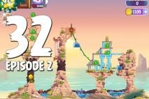 Angry Birds Stella Level 32 Episode 2 Walkthrough