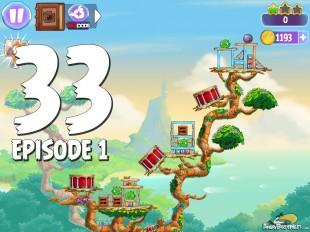 Angry Birds Stella Level 33 Episode 1 Walkthrough