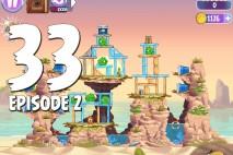 Angry Birds Stella Level 33 Episode 2 Walkthrough