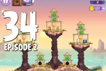 Angry Birds Stella Level 34 Episode 2 Walkthrough