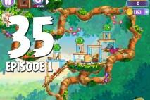 Angry Birds Stella Level 35 Episode 1 Walkthrough