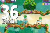 Angry Birds Stella Level 36 Episode 1 Walkthrough