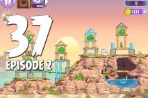 Angry Birds Stella Level 37 Episode 2 Walkthrough
