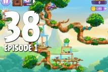 Angry Birds Stella Level 38 Episode 1 Walkthrough