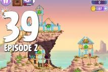 Angry Birds Stella Level 39 Episode 2 Walkthrough