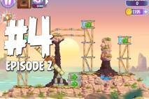 Angry Birds Stella Level 4 Episode 2 Walkthrough