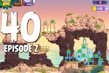 Angry Birds Stella Level 40 Episode 2 Walkthrough